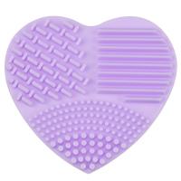 LOVETO.PL - Silikonowe serce do mycia pędzli - FIOLETOWE