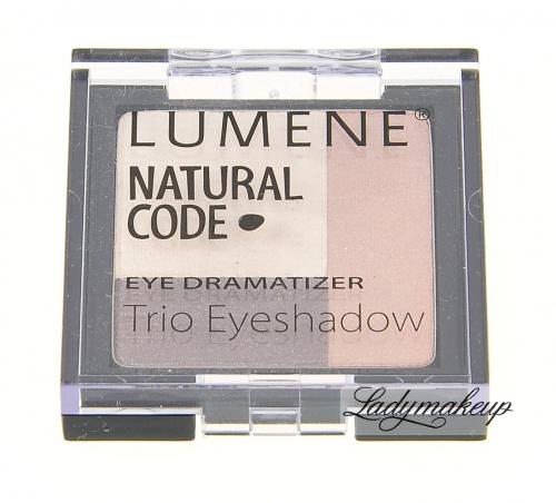 Lumene - Natural Code - Potrójne Cienie do Powiek
