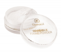 Dermacol - INVISIBLE FIXING POWDER - Transparentny puder do twarzy