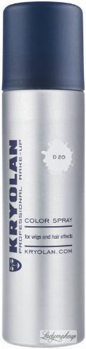 KRYOLAN - Color Spray - Biały lakier do włosów - 150ml - ART. 2250