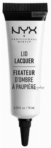 NYX Professional Makeup - LID LACQUER - Błyszczyk do powiek
