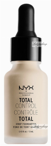 NYX Professional Makeup - TOTAL CONTROL - DROP FOUNDATION - Podkład z zakraplaczem