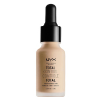 NYX Professional Makeup - TOTAL CONTROL - DROP FOUNDATION - Podkład z zakraplaczem - TCDF07 - NATURAL - TCDF07 - NATURAL