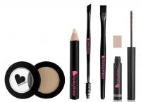 Kelley Backer Brows - Zestaw 5 produktów do makijażu brwi - BLONDE - BLONDE