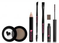 Kelley Backer Brows - Zestaw 5 produktów do makijażu brwi - BROWN - BROWN