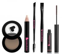 Kelley Backer Brows - Zestaw 5 produktów do makijażu brwi