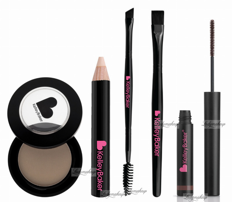 Kelley Baker Brows A Set Of 5 Eyebrow Makeup Products