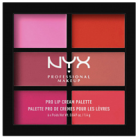 NYX Professional Makeup - PRO LIP CREAM PALETTE - THE PINKS - Paleta pomadek do ust w kremie