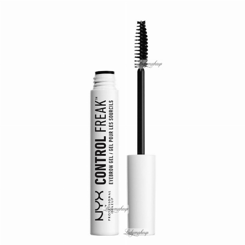 NYX Professional Makeup - CONTROL FREAK EYEBROW GEL - Przezroczysty żel do brwi