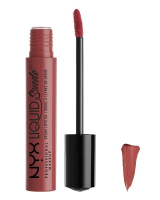 NYX Professional Makeup - LIQUID Suede - Pomadka do ust w płynie - SOFT-SPOKEN - SOFT-SPOKEN