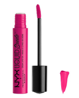NYX Professional Makeup - LIQUID SUEDE CREAM LIPSTICK - 08 - PINK LUST - PINK LUST