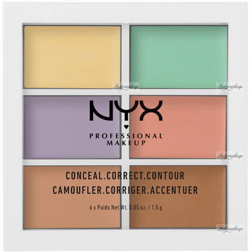 NYX Professional Makeup - COLOR CORRECTING CONCEALER - Paleta korektorów