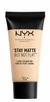 NYX Professional Makeup - STAY MATTE BUT NOT FLAT LIQUID FOUNDATION - Podkład matujący - SMF01 - IVORY - SMF01 - IVORY