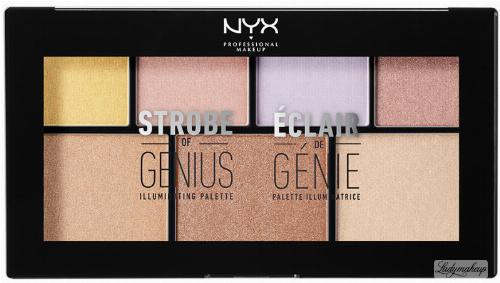 NYX Professional Makeup - STROBE OF GENIUS ILLUMINATING PALETTE