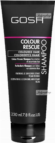 GOSH - COLOUR RESCUE - SHAMPOO - Szampon do włosów farbowanych