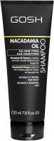 GOSH - MACADAMIA OIL - SHAMPOO - Szampon do włosów z olejem makadamia