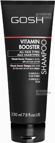 GOSH - VITAMIN BOOSTER - SHAMPOO - For damaged hair