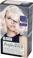 L'Oréal - Récital Préférence - 11.21 ULTRA-LIGHT - Farba do włosów - Trwała koloryzacja - Bardzo jasny, chłodny, perłowy blond