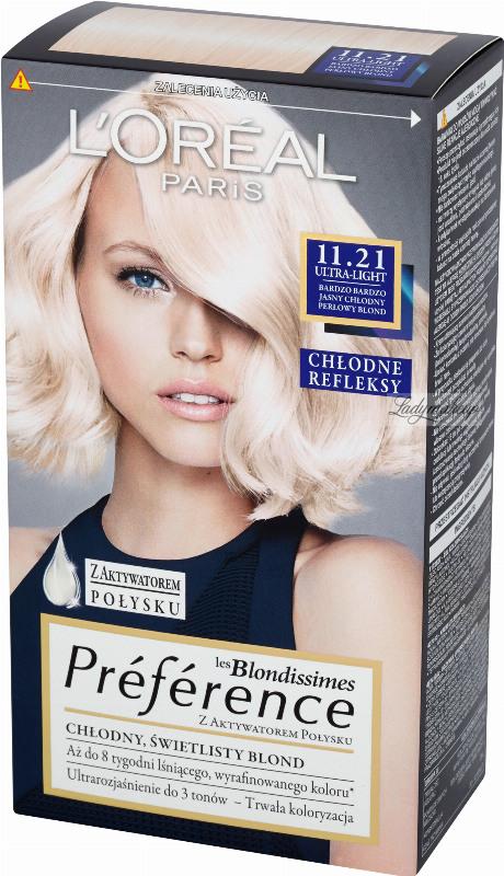 L\'Oréal - Récital Préférence - 11.21 ULTRA-LIGHT - Hair Color ...