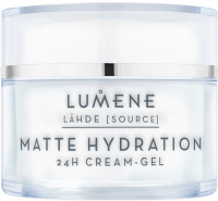 LUMENE - MATTE HYDRATION - 24H CREAM-GEL - Irritating cream-gel for oily and combination skin