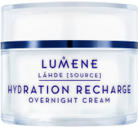 LUMENE - HYDRATION RECHARGE - OVERNIGHT CREAM - For all skin types
