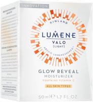 LUMENE - VALO - GLOW REVEAL MOISTURIZER - Rozświetlający krem z witaminą C do każdego typu cery