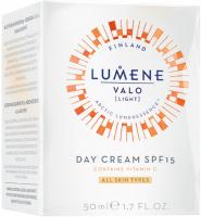 LUMENE - VALO - DAY CREAM SPF 15 - Rozświetlający krem z witaminą C do wszystkich typów cery