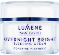 LUMENE - OVERNIGHT BRIGHT - SLEEPING CREAM - Rozświetlający krem na noc z witaminą C