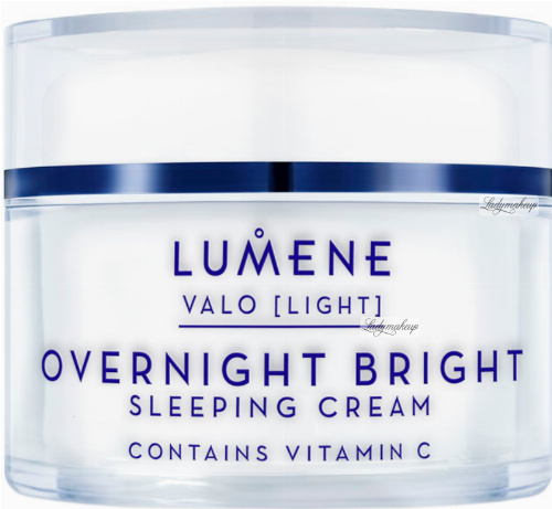 LUMENE - OVERNIGHT BRIGHT - SLEEPING CREAM - Illuminating night cream with vitamin C