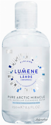 LUMENE - PURE ARCTIC MIRACLE - 3 IN 1 MICELLAR CLEANSING WATER