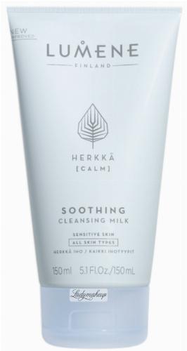 LUMENE - SOOTHING CLEANSING MILK - Delikatne mleczko do mycia twarzy