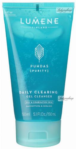 LUMENE - DAILY CLEARING GEL CLEANSER - Oczyszczający żel do mycia twarzy