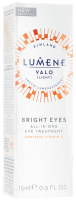 LUMENE - VALO - BRIGHT EYES - ALL-IN-ONE EYE TREATMENT - Rozświetlający krem pod oczy