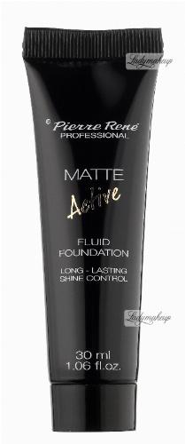 Pierre René - MATTE ACTIVE - FLUID FOUNDATION - Podkład matujący