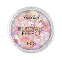NeoNail - ELECTRIC EFFECT - Metaliczny pyłek do paznokci