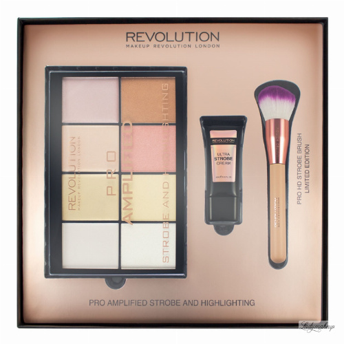 MAKEUP REVOLUTION - PRO AMPLIFIED STROBE AND HIGHLIGHTING
