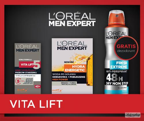 L'OREAL - MEN EXPERT - VITA LIFT - Zestaw kosmetyków do pielęgnacji dla mężczyzn