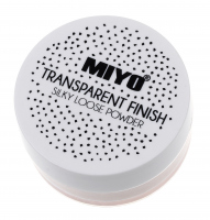 MIYO - Transparent finish! - Transparentny puder sypki
