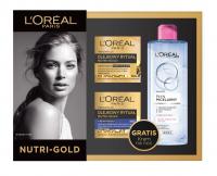 L'Oréal - 2 x NUTRI-GOLD - Oil ritual + Micellar liquid