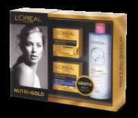 L'Oréal - 2 x NUTRI-GOLD - Olejkowy rytuał + Płyn micelarny