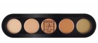 Make-Up Atelier Paris - PALETTE 5 CONCEALER - Paletka 5 korektorów - C/APJ - C/APJ