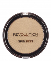MAKEUP REVOLUTION - SKIN KISS - Highlighter - GOLDEN KISS - GOLDEN KISS