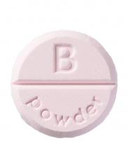 Bomb Cosmetics - Shower Mixers - Aromatyczna kostka pod prysznic - PUDER DLA DZIECI - PUDER DLA DZIECI