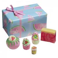Bomb Cosmetics - Zest Up - Thanks A Melon - Zestaw kosmetyków do pielęgnacji - ARBUZOWY