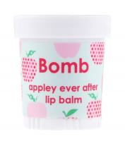 Bomb Cosmetics - Lip Balm - Appley Ever After - Balsam do ust JABŁKO Z MIGDAŁAMI