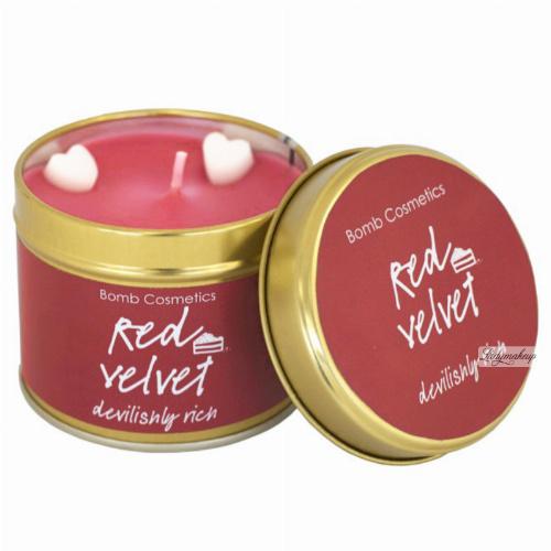 Bomb Cosmetics - Red Velvet Candle