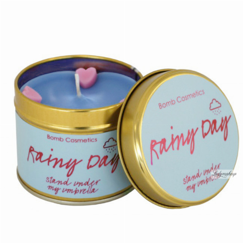 Bomb Cosmetics - Rainy Day - Handmade scented candle with essential oils