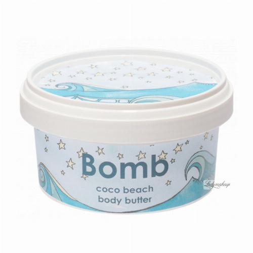 Bomb Cosmetics - Coco Beach - Body Butter - Masło do ciała - KOKOSOWA PLAŻA