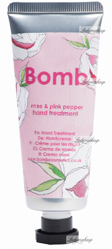 Bomb Cosmetics - Hand Treatment - Rose & Pink Pepper - Kuracja do rąk