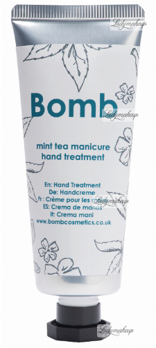 Bomb Cosmetics - Hand Treatment - Mint Tea Manicure - Kuracja do rąk